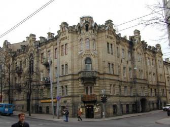V. Šopeno g. 12, Vilniaus m.